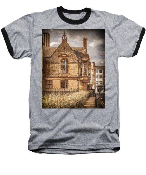 Oxford, England - Merton Street Baseball T-Shirt