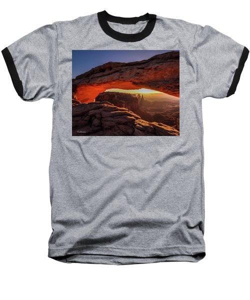 Mesa Arch At Sunrise 1, Canyonlands National Park, Utah Baseball T-Shirt
