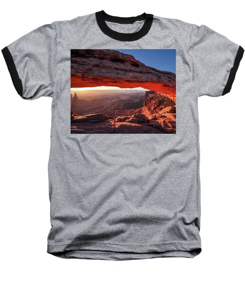Mesa Arch At Sunrise 2, Canyonlands National Park, Utah Baseball T-Shirt