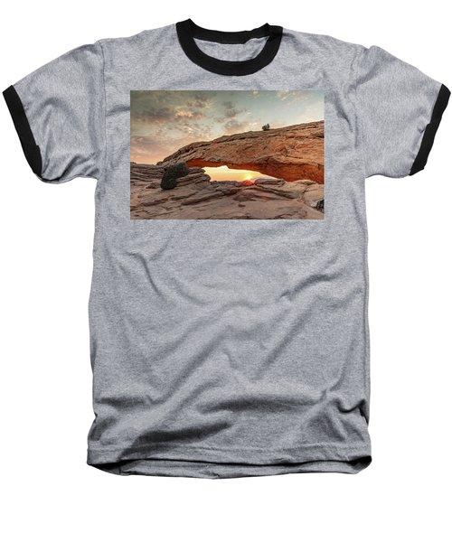 Mesa Arch At Sunrise Baseball T-Shirt