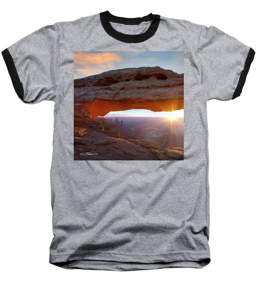 Mesa Arch, Canyonlands, Utah Baseball T-Shirt