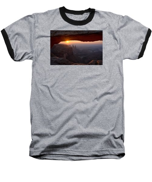 Mesa Arch Sunrise Baseball T-Shirt