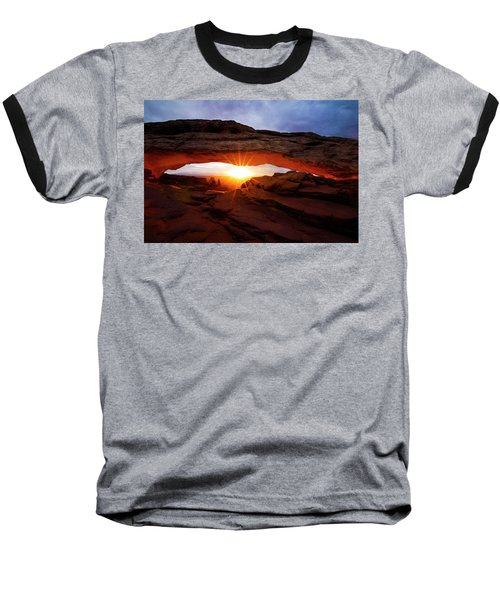 Mesa Arch Sunrise Baseball T-Shirt