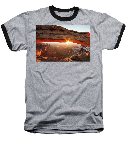 Baseball T-Shirt featuring the photograph Mesa Arch by Wesley Aston