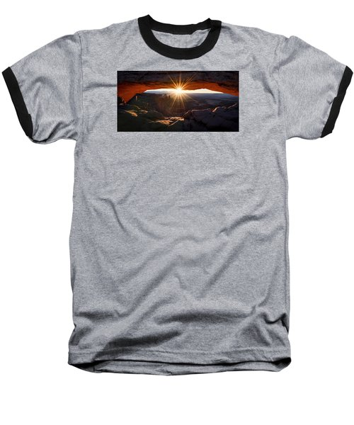 Mesa Glow Baseball T-Shirt by Chad Dutson