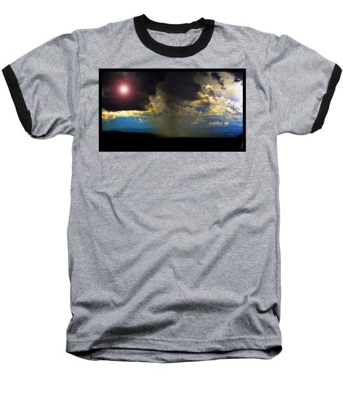 Mesa Thunderstorm Vistas Baseball T-Shirt by Susanne Still