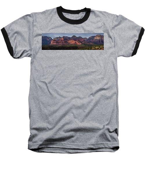 Mescal Mountain Panorama Baseball T-Shirt