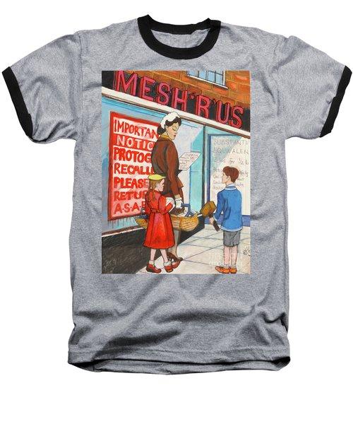 Mesh R Us Baseball T-Shirt