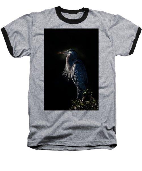 Mesmerized Baseball T-Shirt by Cyndy Doty
