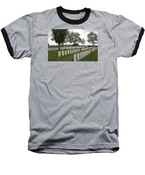 Baseball T-Shirt featuring the photograph Messines Ridge British Cemetery by Travel Pics