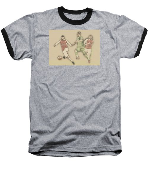 Mesut Ozil Baseball T-Shirt by Don Kuing