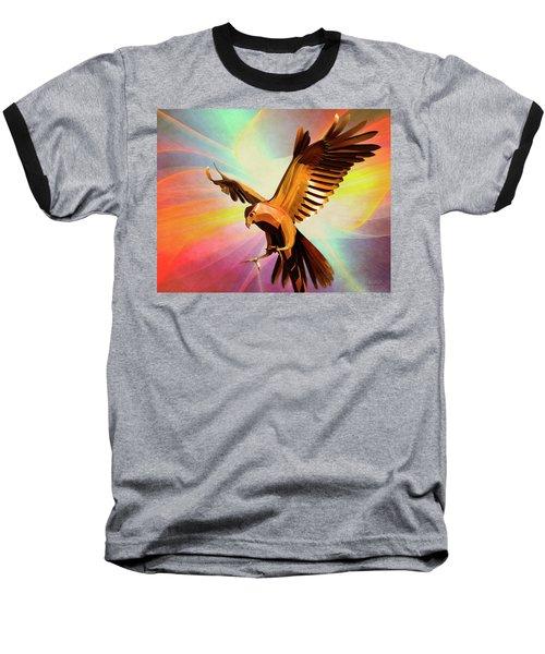 Metal Bird 1 Of 4 Baseball T-Shirt