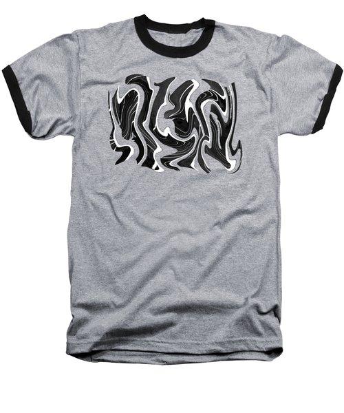 Metal Taffy Transparency Baseball T-Shirt