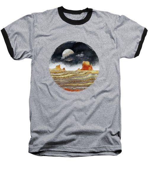 Metallic Desert Baseball T-Shirt by Spacefrog Designs