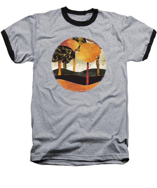 Metallic Forest Baseball T-Shirt