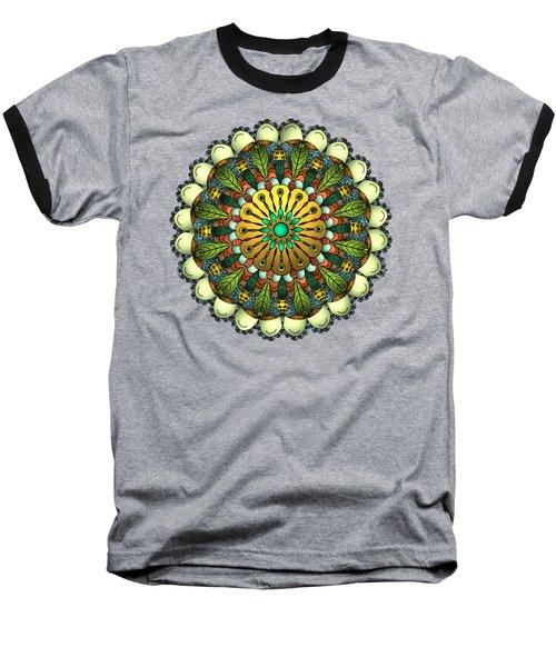 Metallic Mandala Baseball T-Shirt