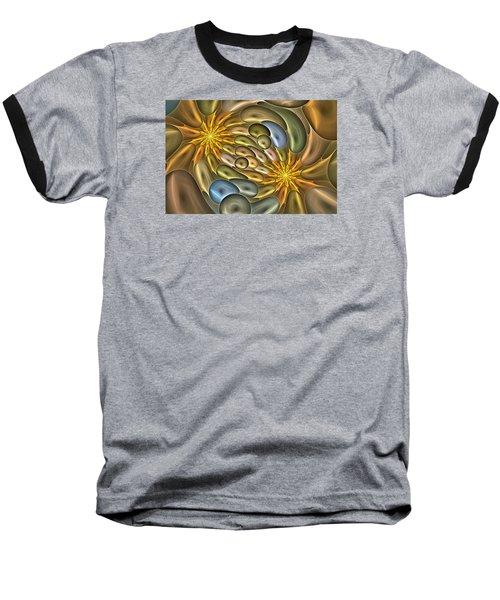 Metallic Mitosis Baseball T-Shirt