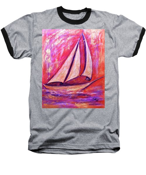 Metallic Sails Baseball T-Shirt