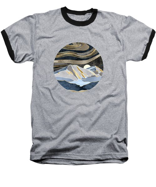 Metallic Sky Baseball T-Shirt