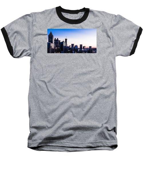 Metallic Sunset Baseball T-Shirt