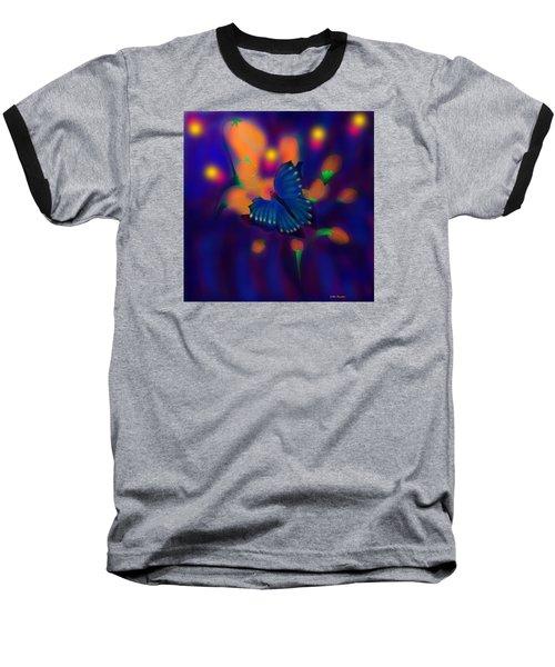 Metamorphosis Baseball T-Shirt by Latha Gokuldas Panicker