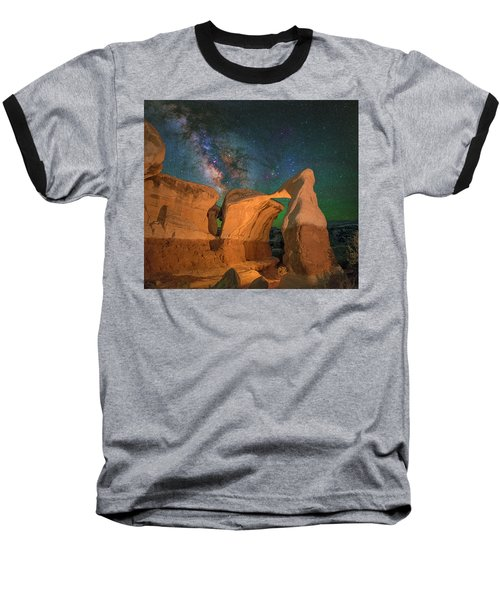 Metate Arch Baseball T-Shirt