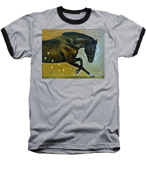 Meteor Shower Baseball T-Shirt