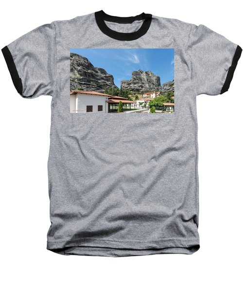 Meteora In Greece Baseball T-Shirt