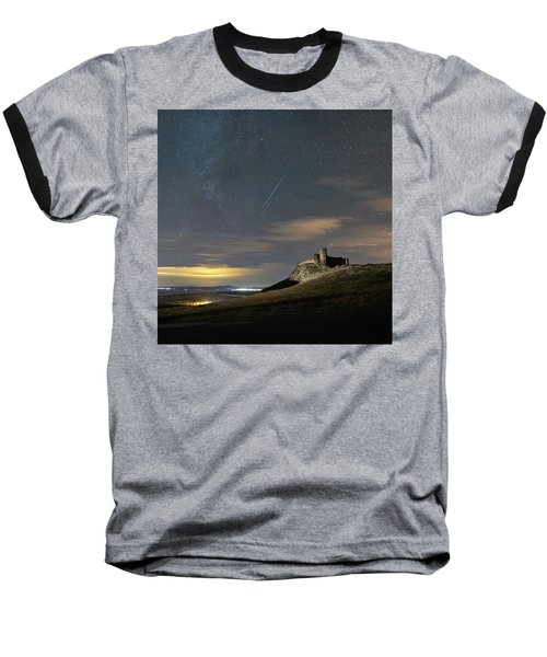 Meteors Above The Fortress Baseball T-Shirt