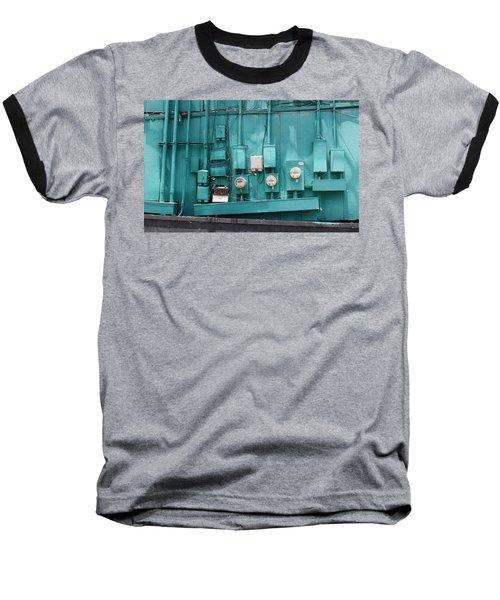 Meter Reader Baseball T-Shirt