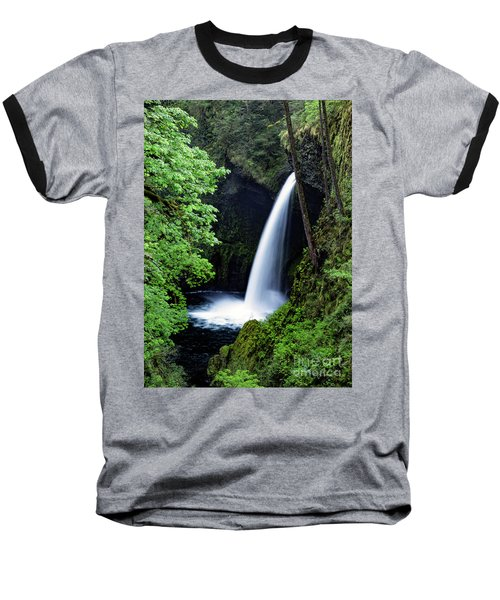 Metlako Falls Waterfall Art By Kaylyn Franks Baseball T-Shirt