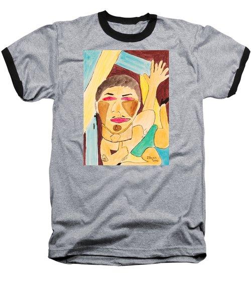 Metro Beauty Baseball T-Shirt by Jose Rojas