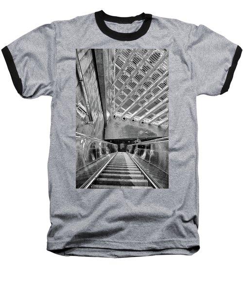 Metro Line 4 Structures, Budapest 3 Baseball T-Shirt