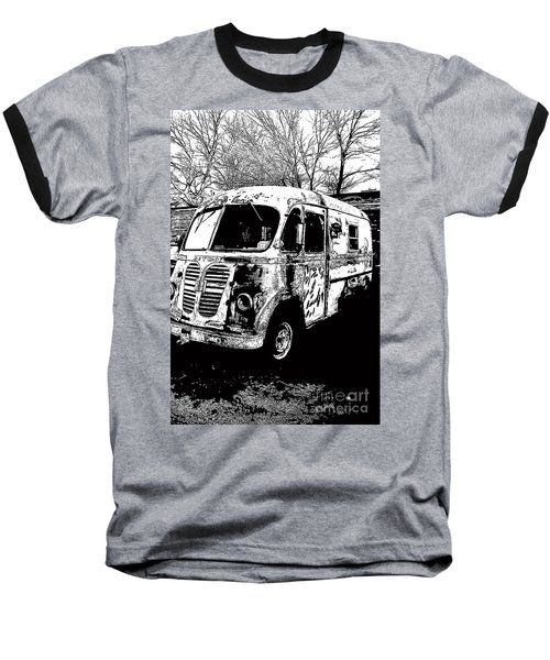 Metro Van Side Baseball T-Shirt