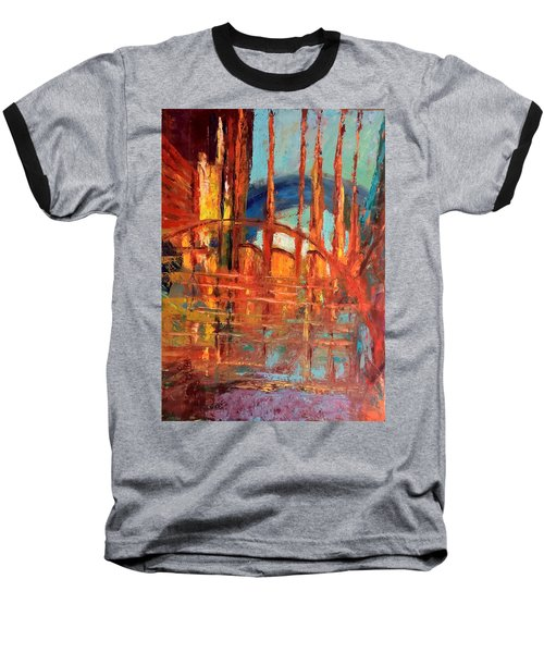 Metropolis In Space Baseball T-Shirt