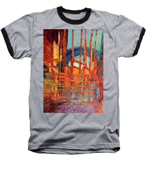 Metropolis In Space Baseball T-Shirt