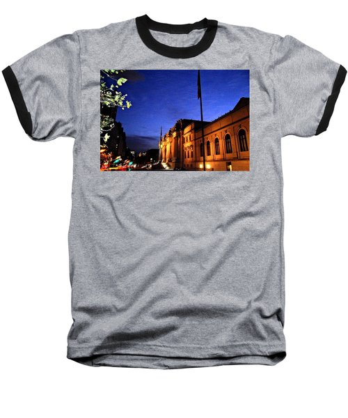 Metropolitan Museum Of Art Nyc Baseball T-Shirt