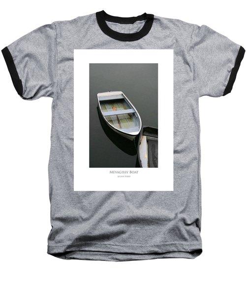 Mevagissy Boat Baseball T-Shirt