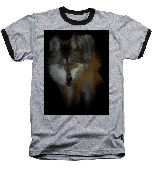 Mexican Grey Wolf Da2 Baseball T-Shirt
