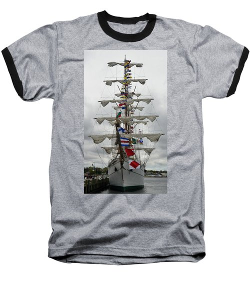 Mexican Navy Ship Baseball T-Shirt