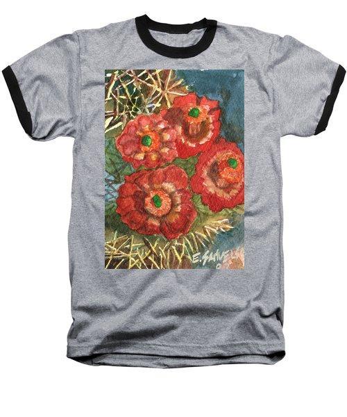 Mexican Pincushion Baseball T-Shirt