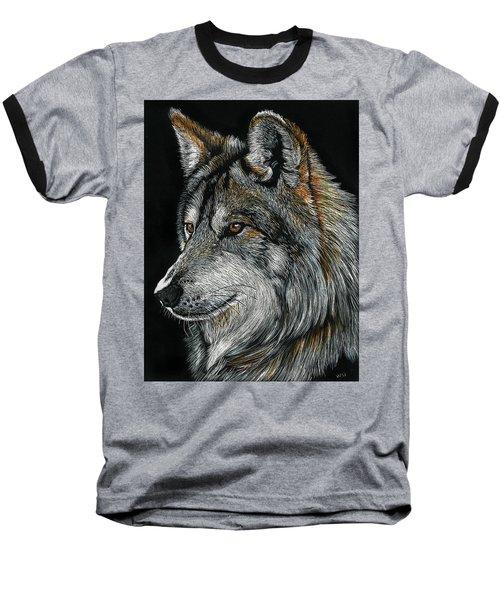 Mexican Wolf Baseball T-Shirt