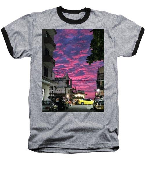 Mexico Memories 1 Baseball T-Shirt by Victor K