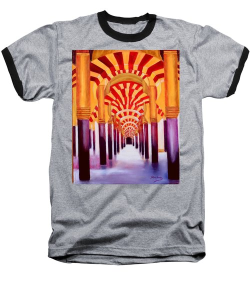 Mezquita De Cordoba Baseball T-Shirt