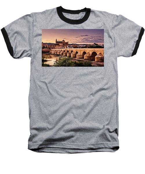 Mezquita In The Evening Baseball T-Shirt