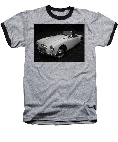 Mg - Morris Garages Baseball T-Shirt by Juergen Weiss
