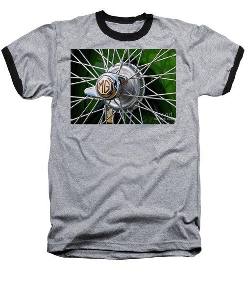 Baseball T-Shirt featuring the photograph Mg Hub by Chris Dutton