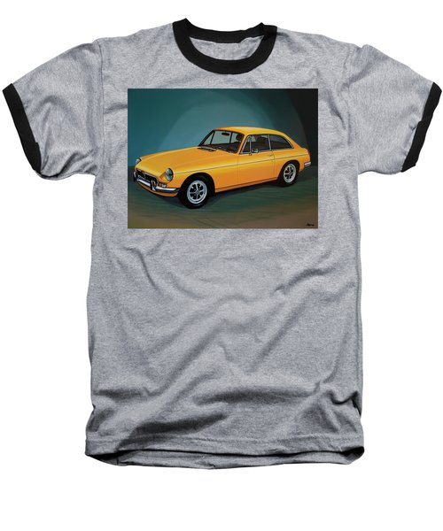 Mgb Gt 1966 Painting  Baseball T-Shirt by Paul Meijering