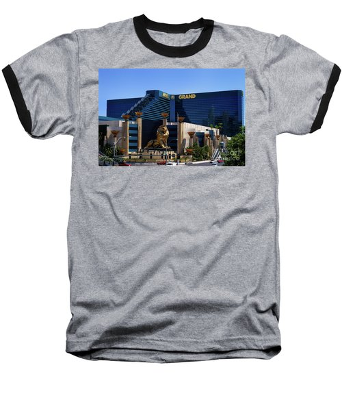 Mgm Grand Hotel Casino Baseball T-Shirt
