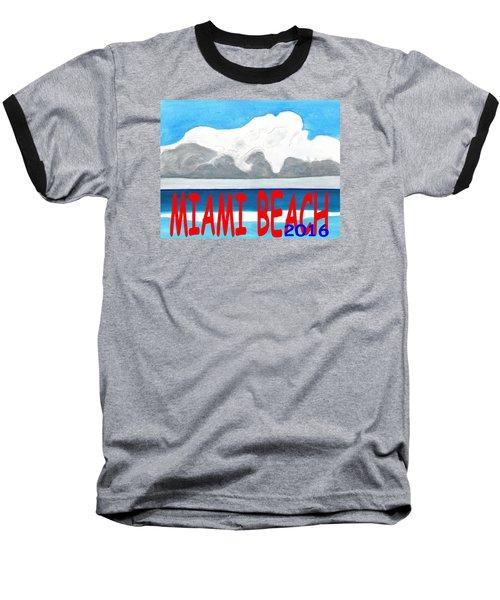 Miami Beach 2016 Baseball T-Shirt
